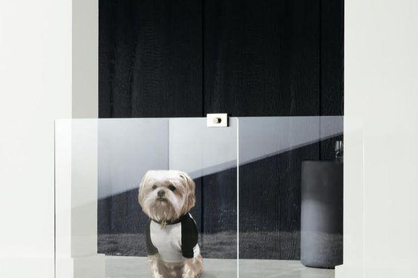CB2 Keep Em Out/Keep Em In Dog Gate