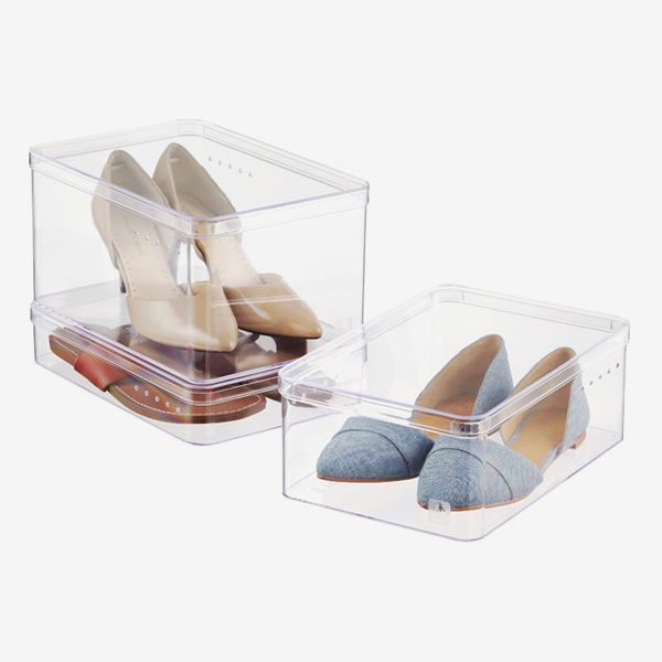 The Container Store Heeled-Shoe Boxes