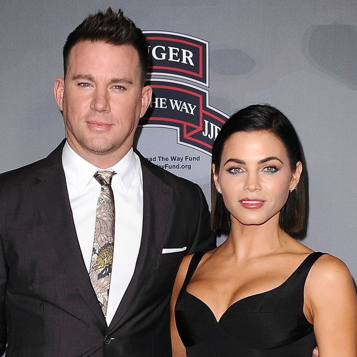 Channing Tatum and Jenna Dewan.