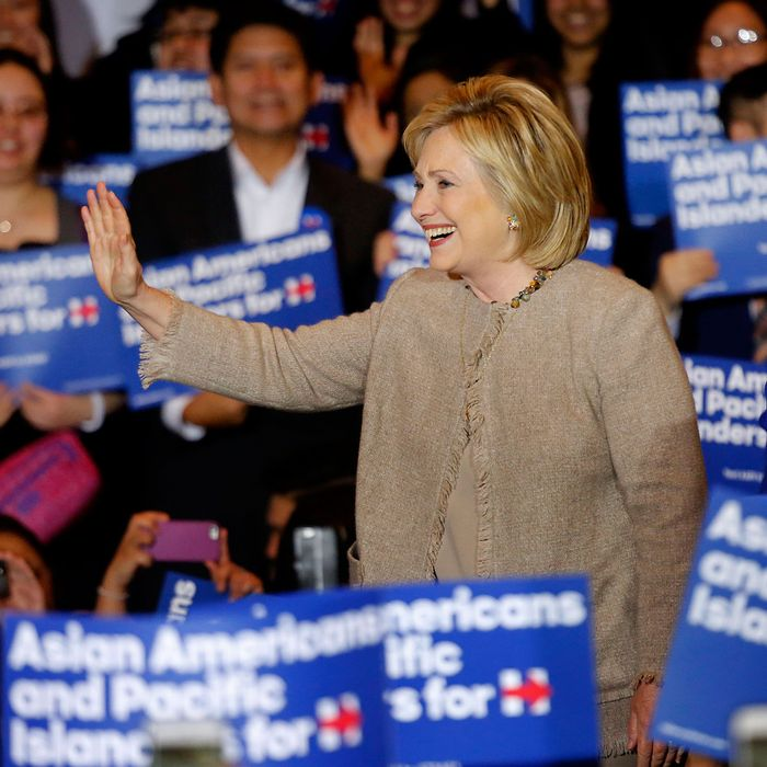 Democratic Presidential candidate, Hillary Clinton, unveiled an effort to organize Asian-Americans on Thursday Jan. 07, 16 in the San Gabriel Valley at the Hilton.