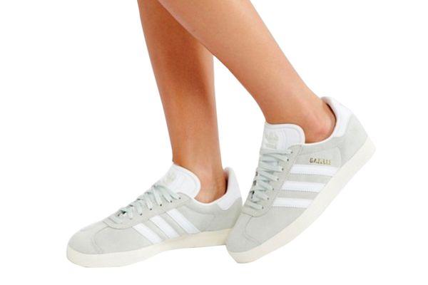 Adidas Originals Gazelle Sneakers in Pale Green