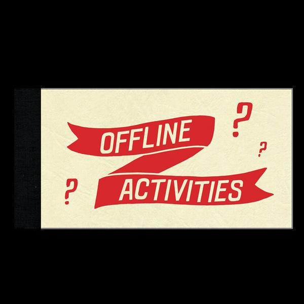 Offline Activities By Tamara Shopsin & Jason Fulford