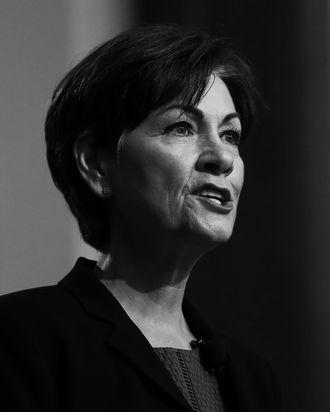 Iowa governor Kim Reynolds.