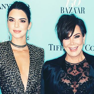 Kendall Jenner and Kris Jenner.