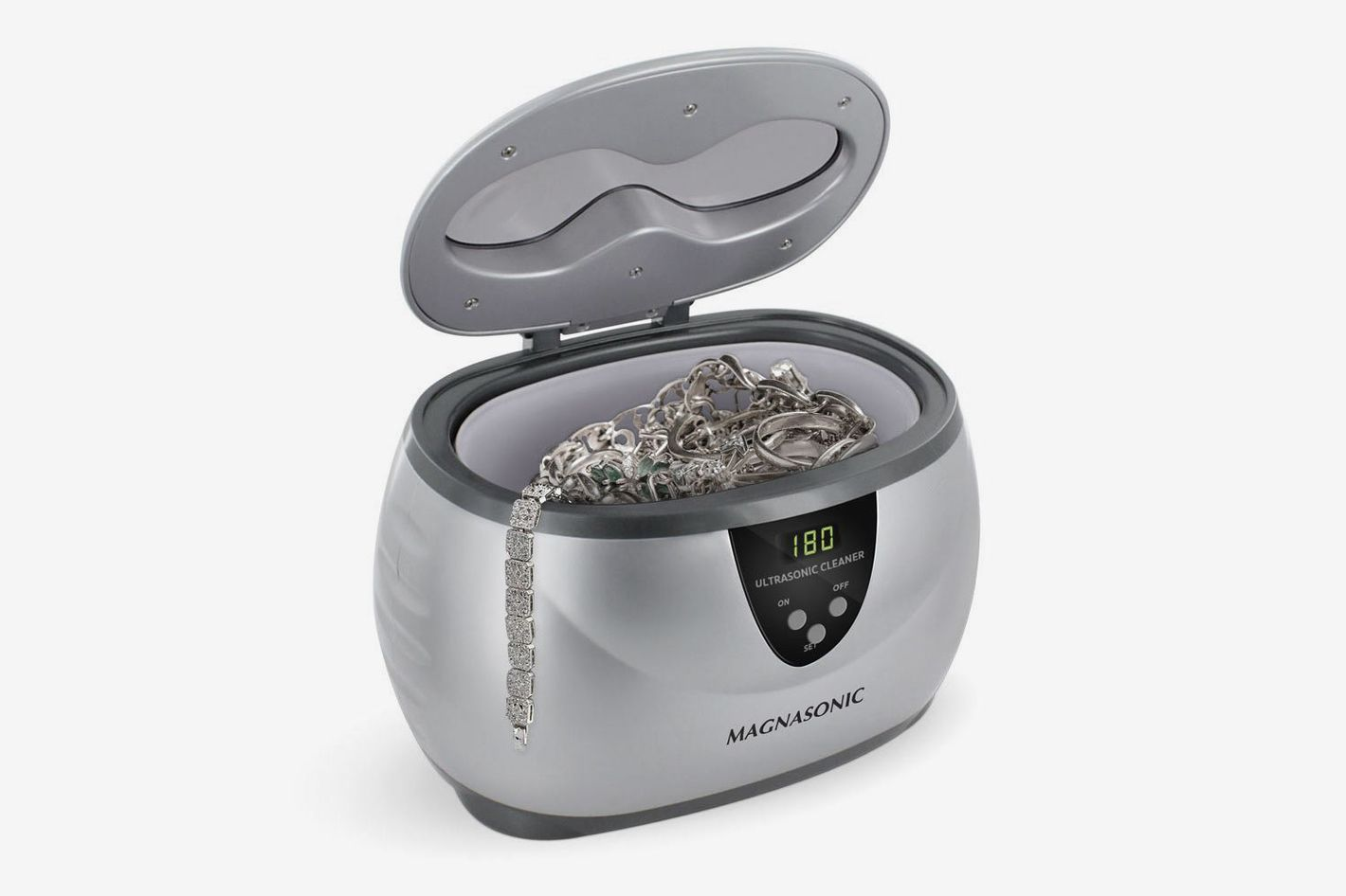 Magnasonic Professional Ultrasonic Jewelry Cleaner With Digital Timer