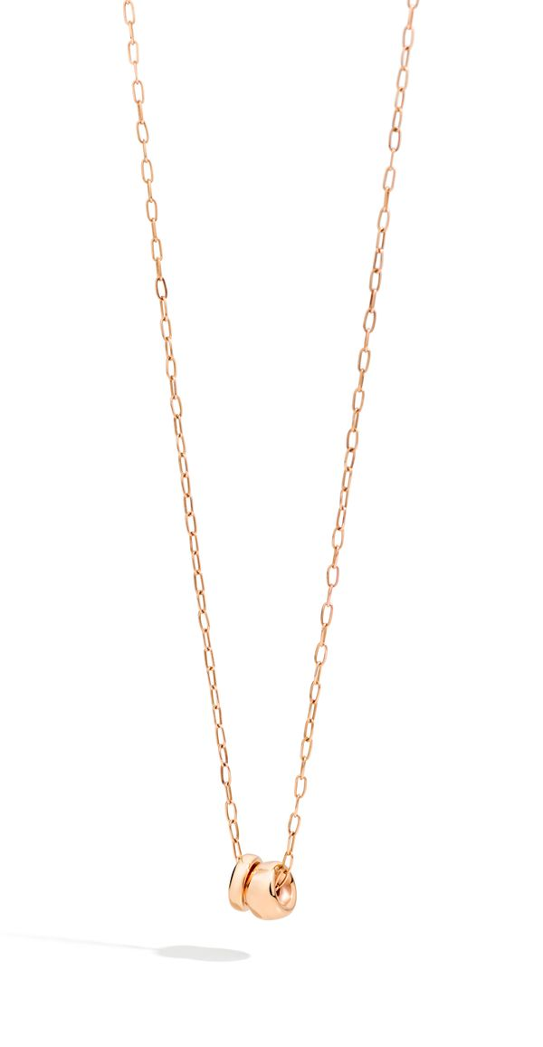 Pendant With Chain Iconica Rose Gold