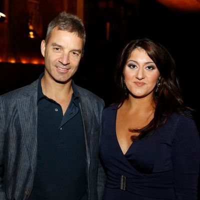 "CNBC EVENTS -- ""The Alpha Masters"" by Maneet Ahuja Book Release Party at Tao -- Pictured: (l-r) Dan Loeb, Maneet Ahuja -- (Photo by: Heidi Gutman/CNBC)"