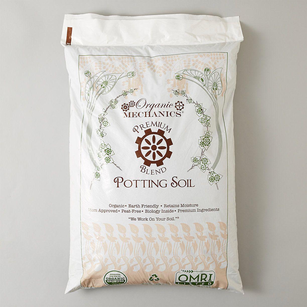 Organic Mechanics Premium Blend Potting Soil