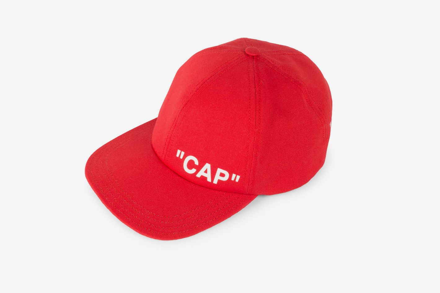 Off-White Quote Baseball Cap