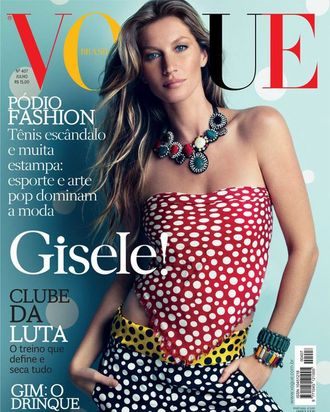 Gisele for Vogue Brazil.