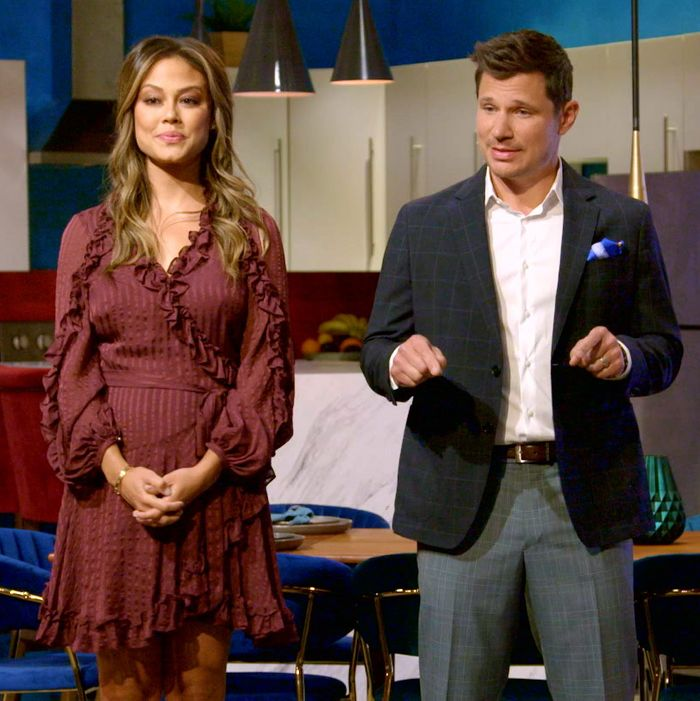 Vanessa and Nick Lachey not hosting Love Is Blind.