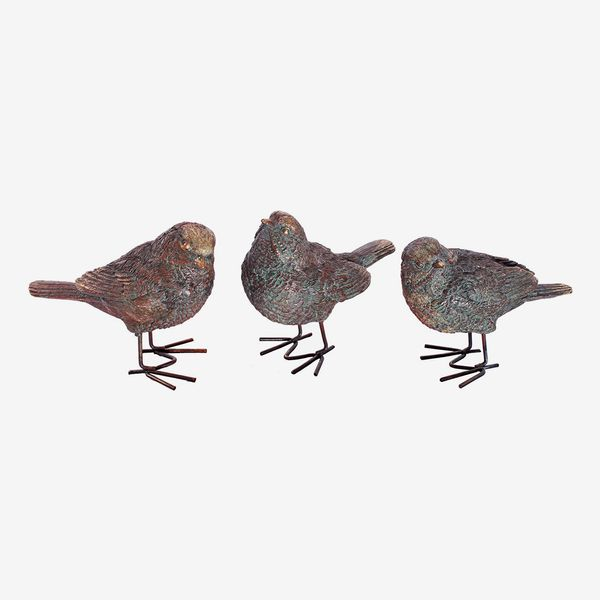 Bronze Birds (Set of 3)