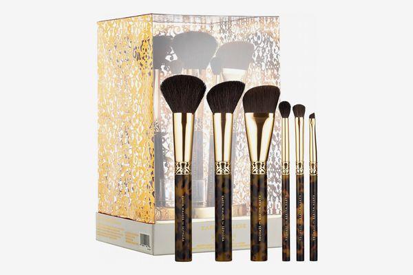 Sephora Collection KAREN WALKER Amber Craft: Beauty Brush Set + Stand