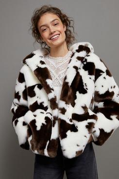 Jakke Hedda Faux Fur Coat