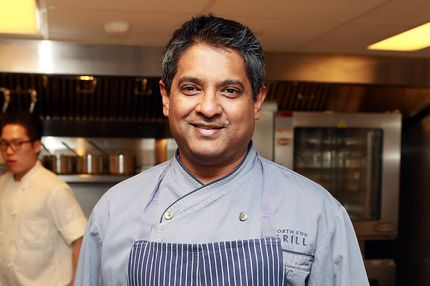 Chef Floyd Cardoz attends the 2013 Dinner For A Better New York at Riverpark Restaurant on March 6, 2013 in New York City.