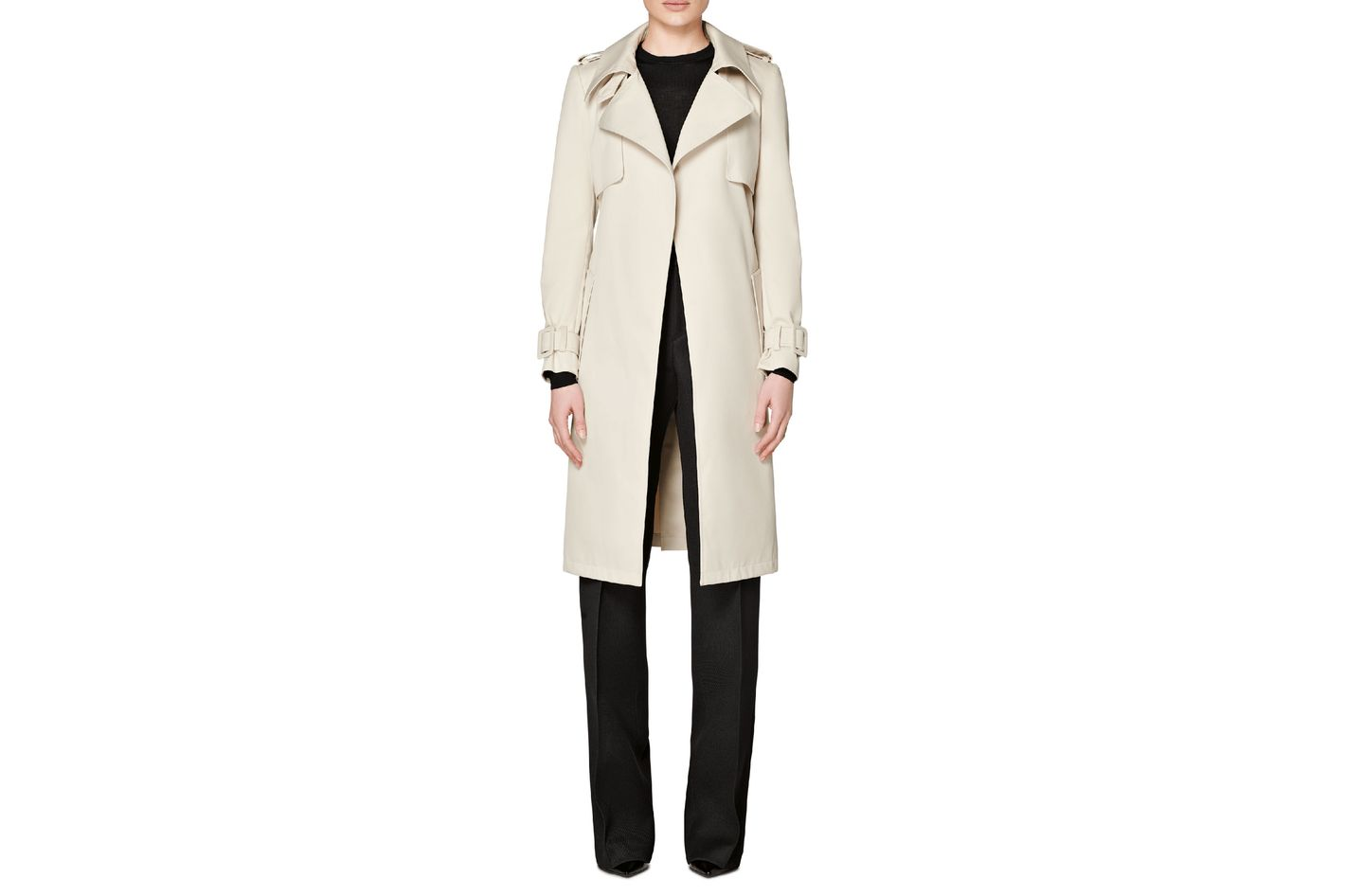 Suistudio Dwight Beige Trench Coat