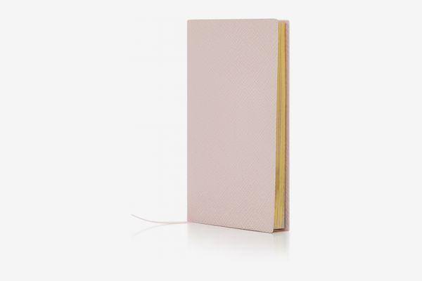 Smythson Panama Leather Notebook