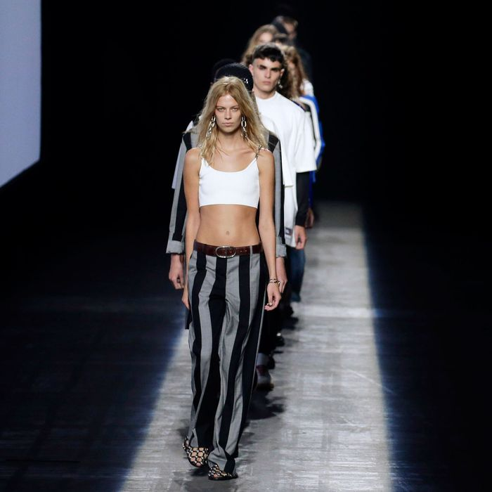 Alexander Wang at spring 2016 New York Fashion Week.