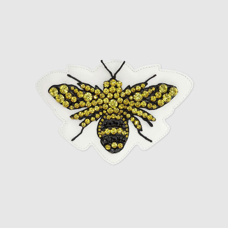 Embroidered Bee Applique