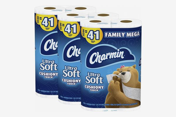 Charmin Ultra Soft Cushiony Touch Toilet Paper, 24-pack