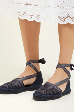 castaner jean lace canvas espadilles - strategist fashion summer sale