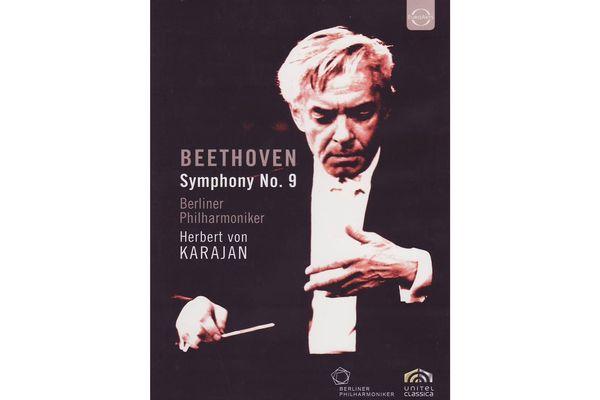 Beethoven Symphony No. 9 by Herbert von Karajan - DVD