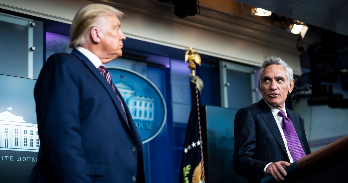 Why Trump Ended the Task Force and Put a Kook in Charge of the Coronavirus