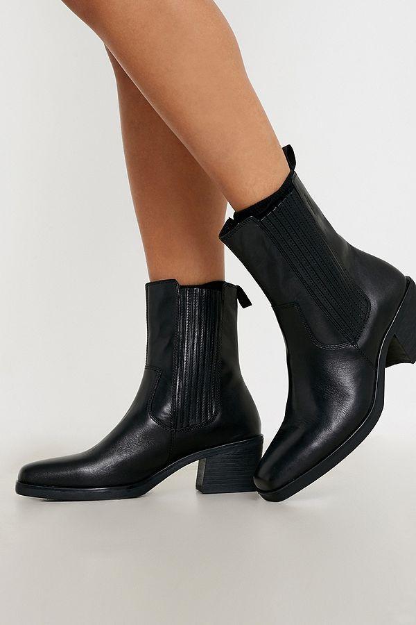 Vagabond Simone Black Western Boots