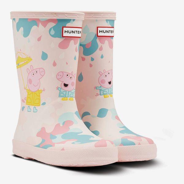 Hunter x Peppa Pig Muddy Puddles Rain Boot