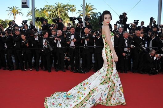 "CANNES, FRANCE - MAY 16:  Actress Fan Bing Bing attends the opening ceremony and ""Moonrise Kingdom"" premiere during the 65th Annual Cannes Film Festival at Palais des Festivals on May 16, 2012 in Cannes, France.  (Photo by Pascal Le Segretain/Getty Images)"