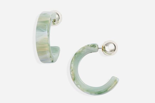 8 Other Reasons Mint Hoop Earrings