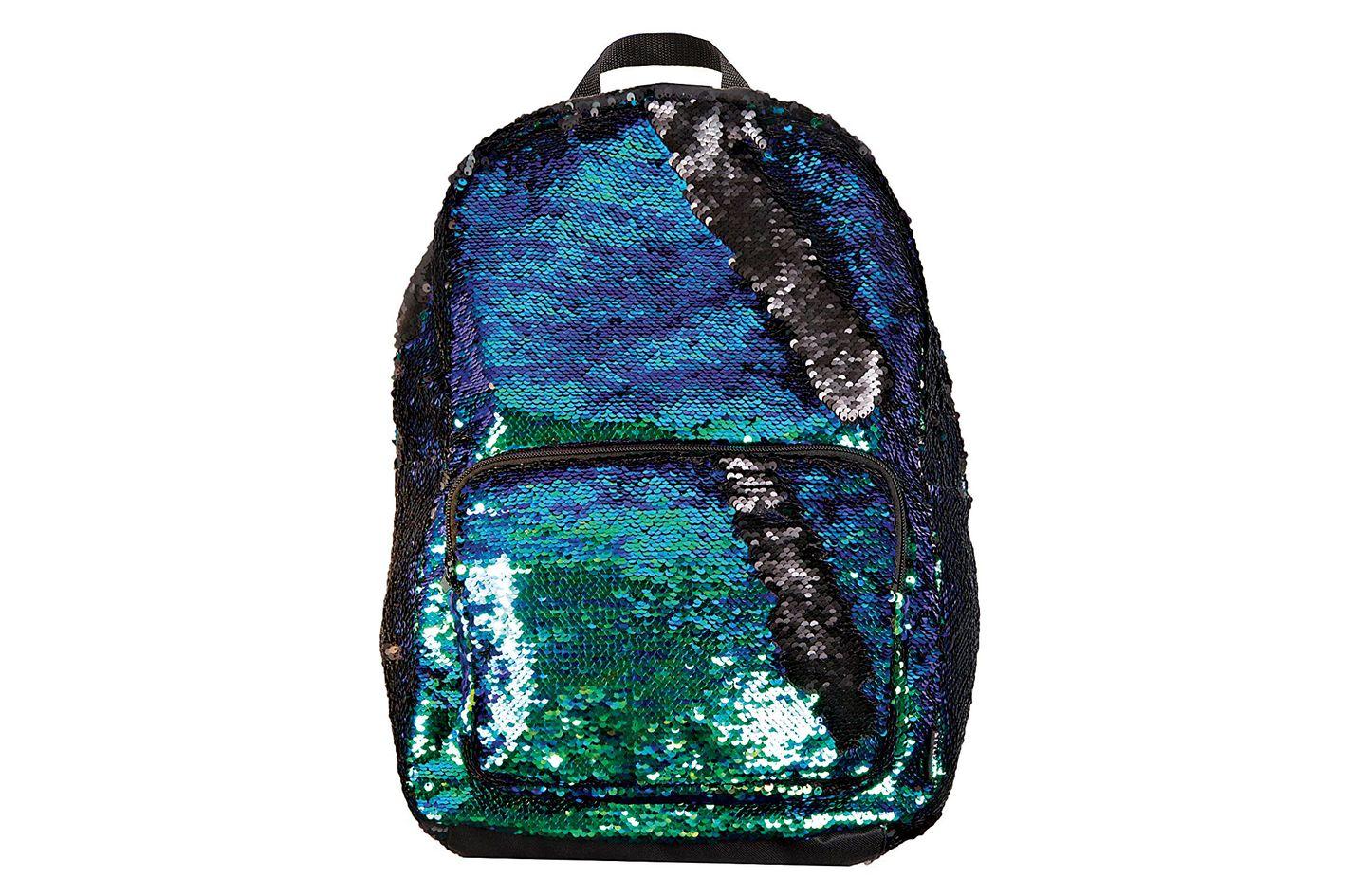 Style.Labs Magic Sequin Backpack, Mermaid/Black