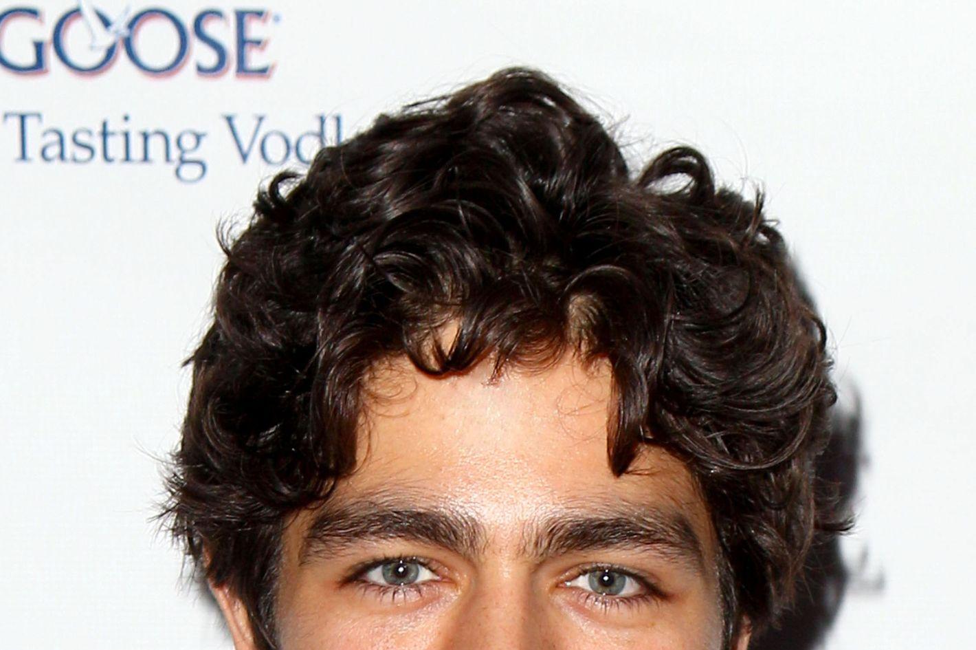 Male Gaze Adrian Greniers Curly Mop Of Hair