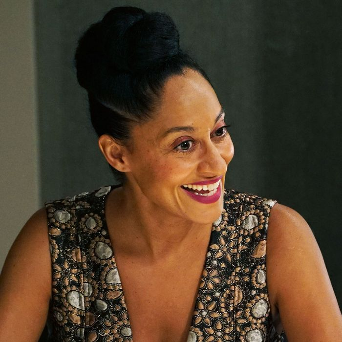 Tracee Ellis Ross on <i>Black-ish</i>.