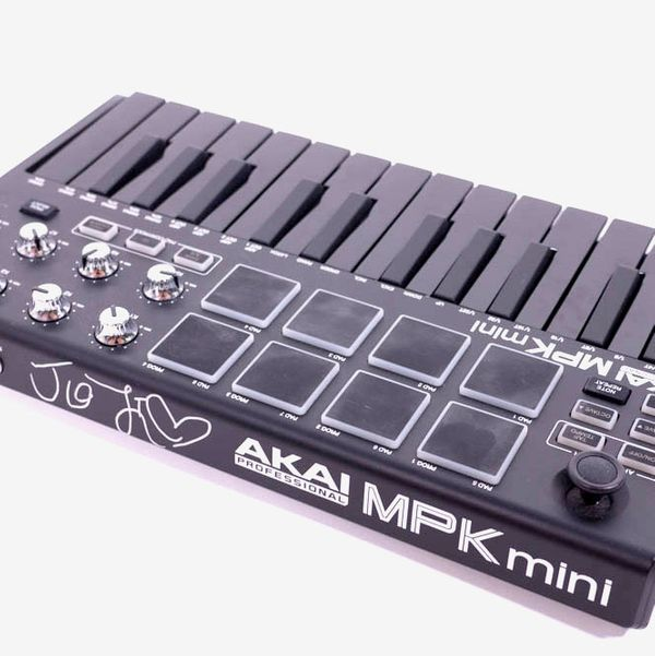 Akai Professional MPK Mini MKII Keyboard Owned and Signed by Joji