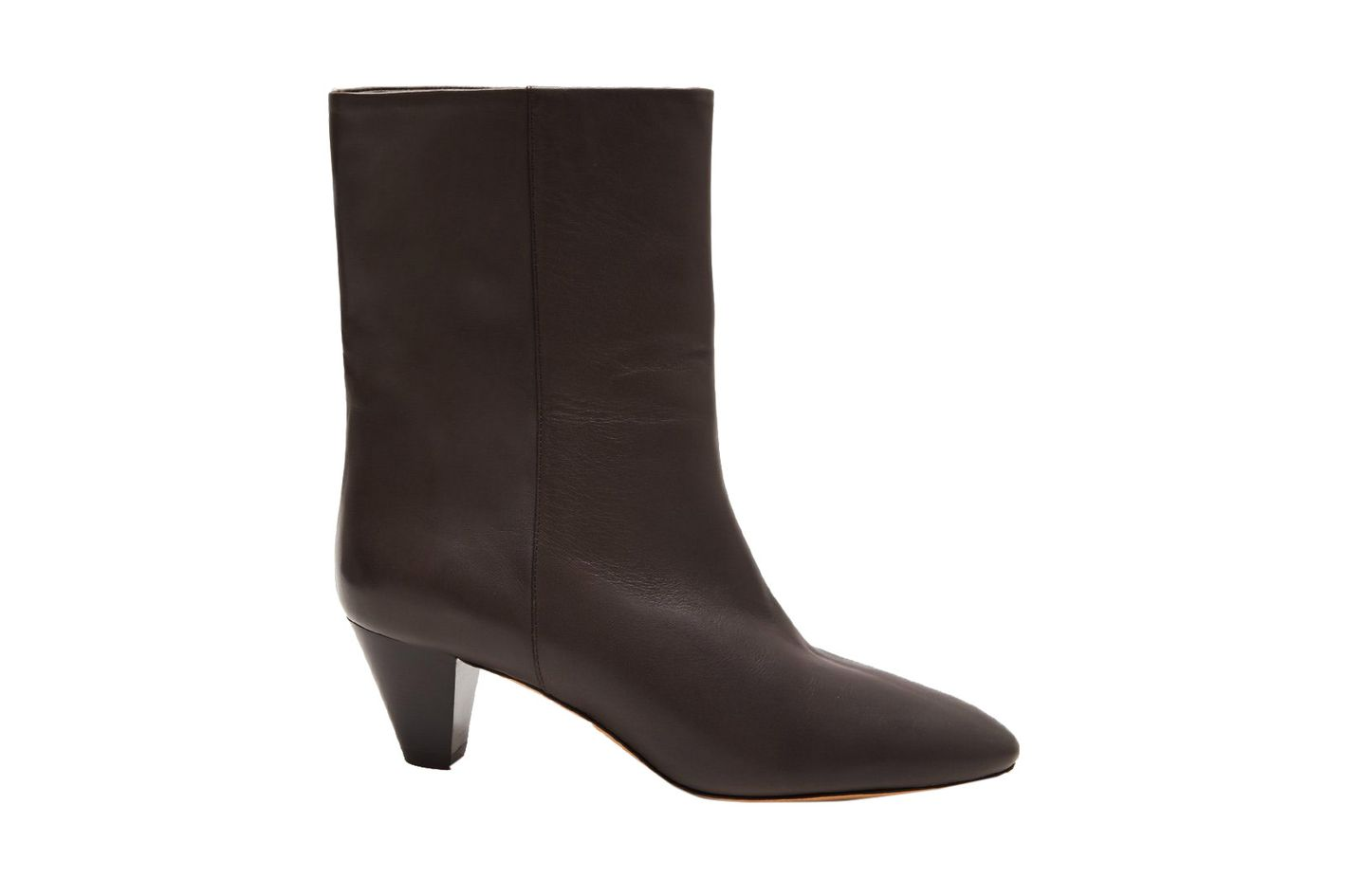 Isabel Marant Dyna Pointed Toe Leather Boots