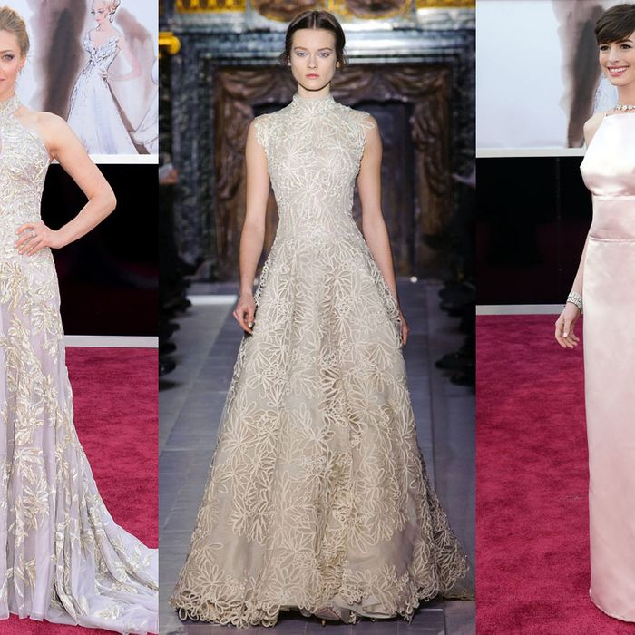 Anne Hathaway's Oscars Dress Kerfuffle Was Quite Stressful