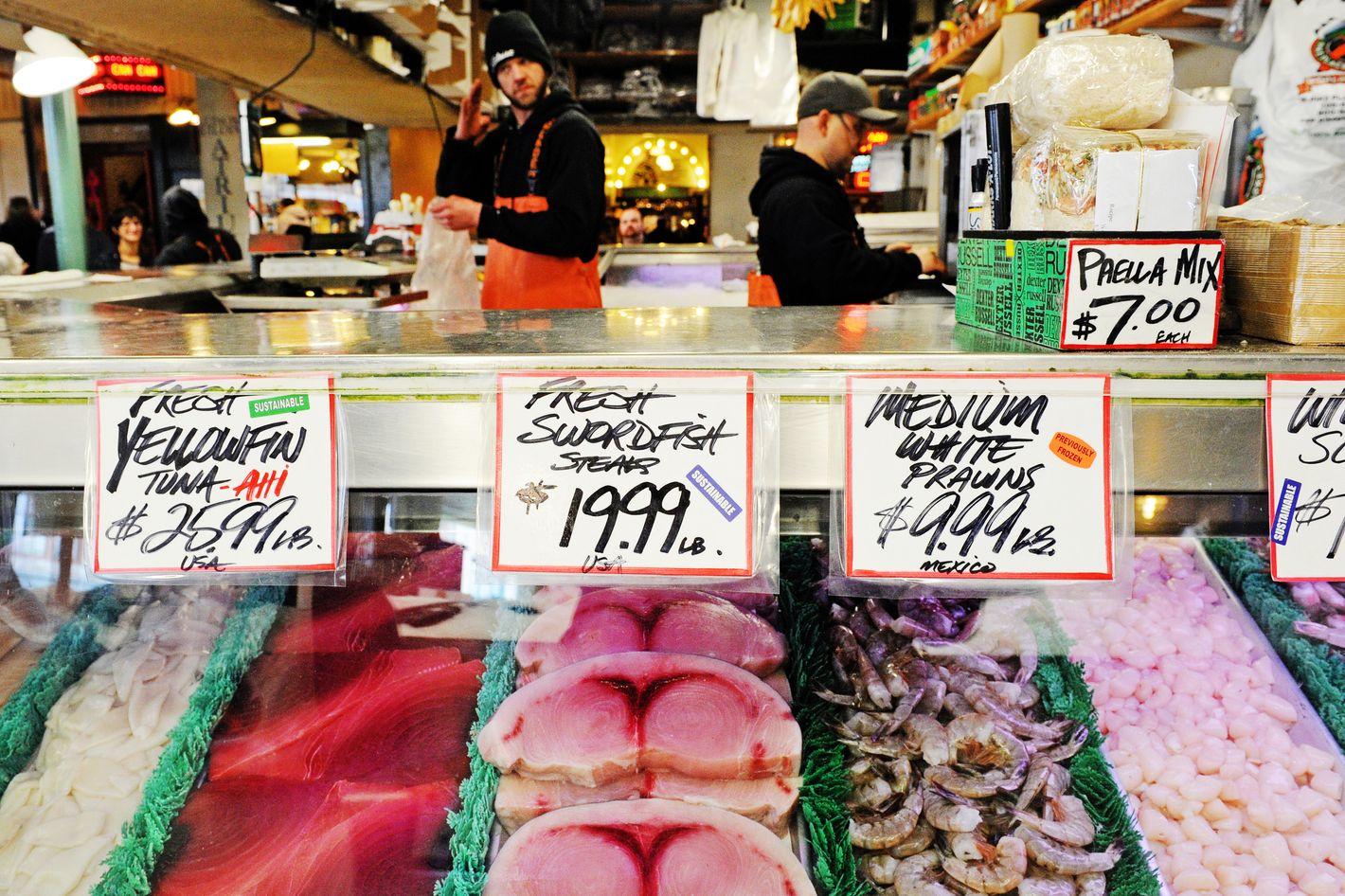 Would a BID hurt fish markets?