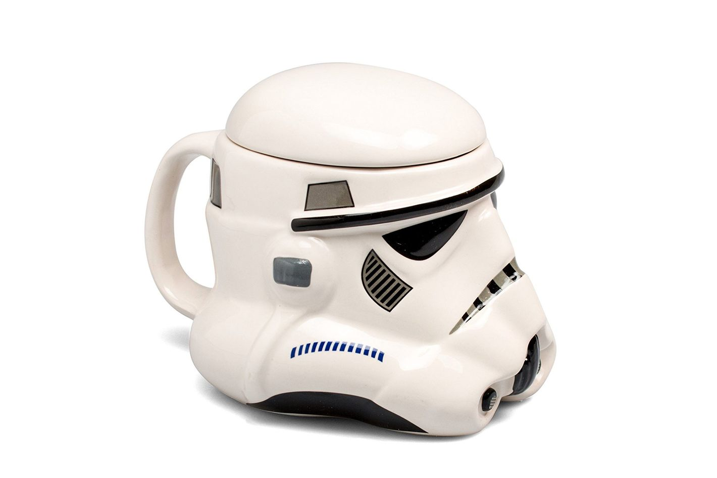 Star Wars Mug — Stormtrooper Helmet 3D Ceramic Coffee Mug With Removable Lid
