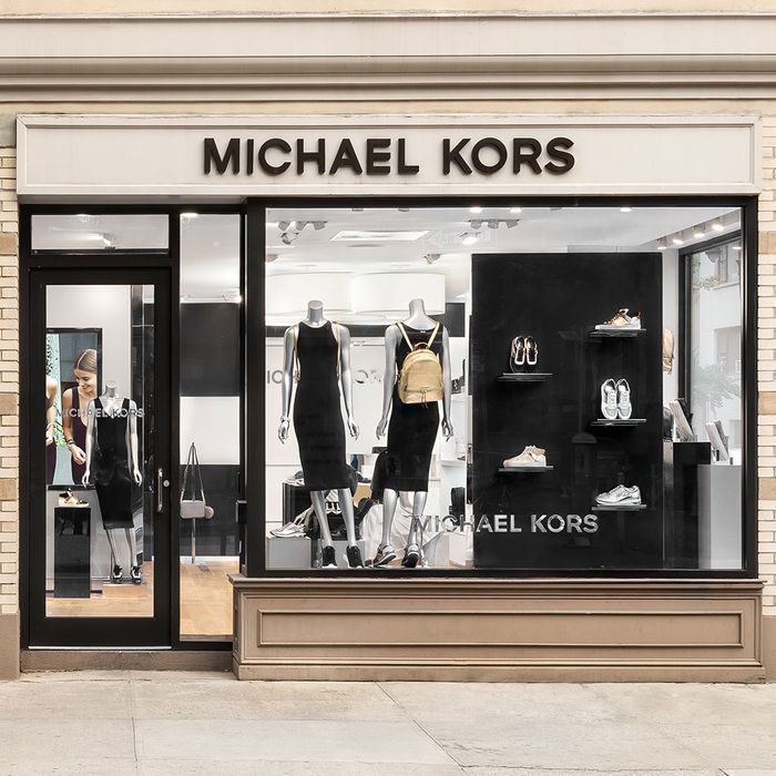 Michael Kors's revamped Bleecker Street store.