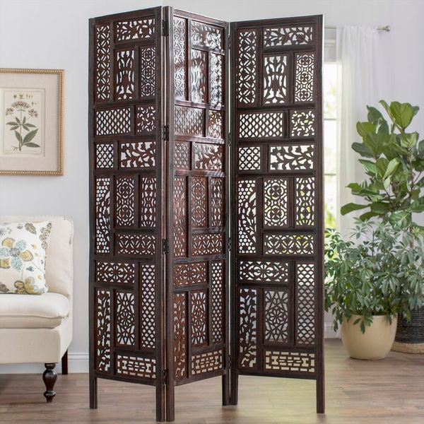World Menagerie Bouzov 3 Panel Room Divider
