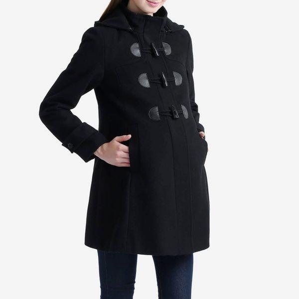 "Kimi + Kai ""Paisley"" Maternity Duffle Coat"