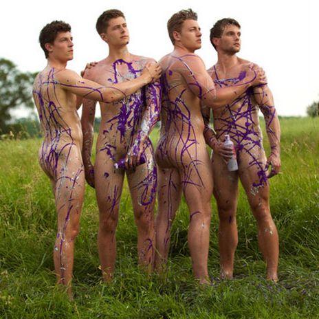 Naked british guys