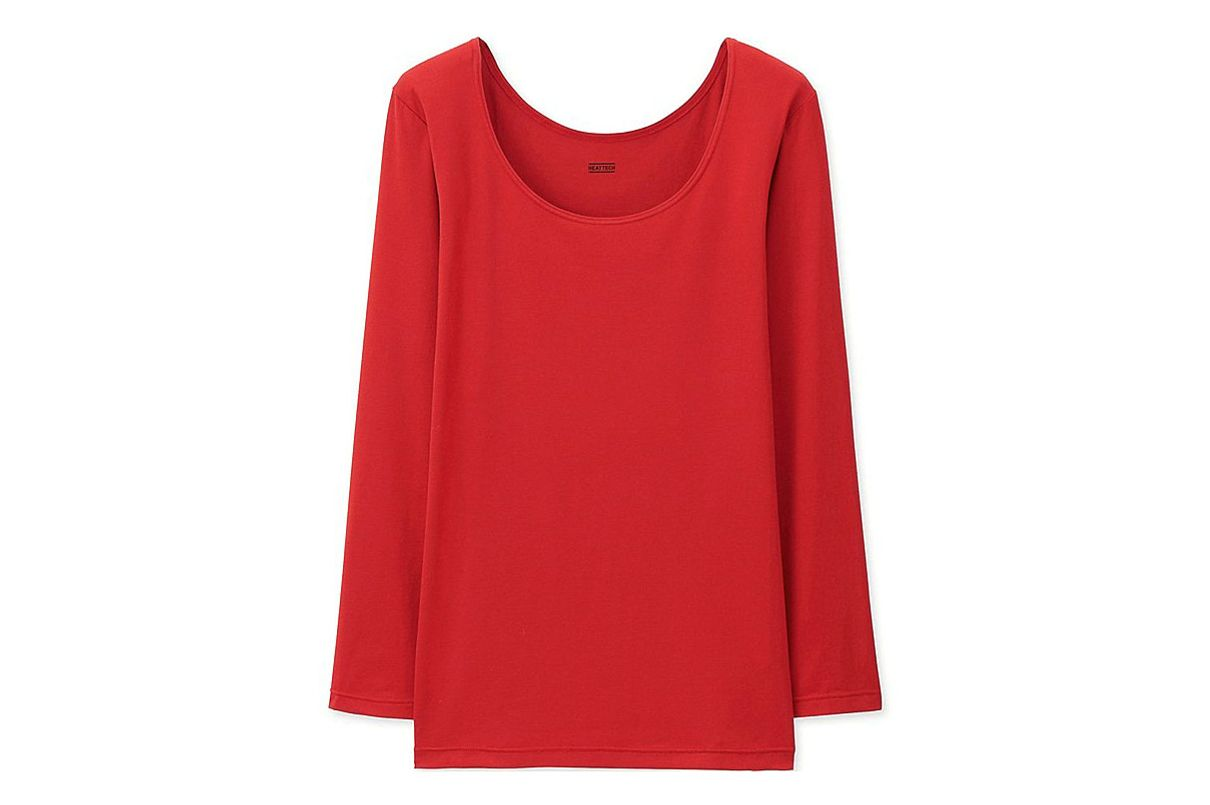 Uniqlo Heatteach Long Sleeve T-Shirt