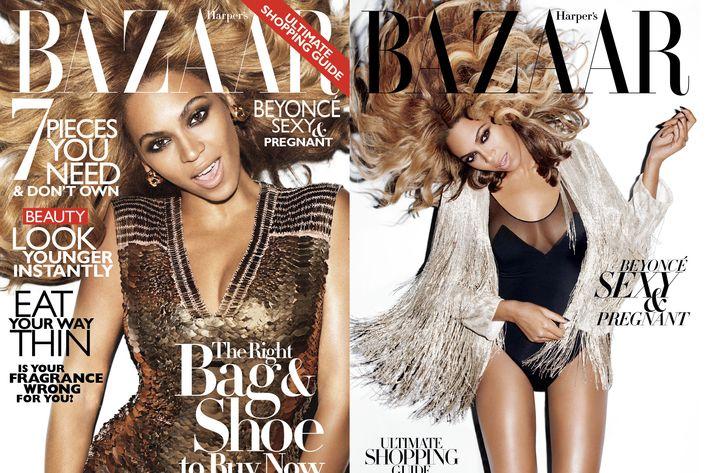 Beyoncé for <em>Harper's Bazaar.</em>