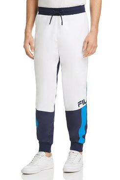 FILA Hudson Color-Block Track Pants