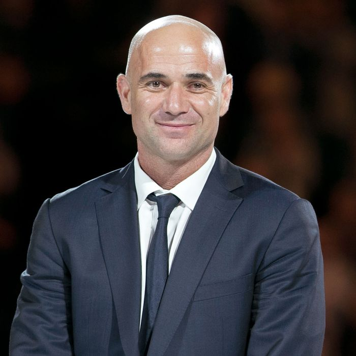 14debf0f05 Andre Agassi on Fake Hair, True Love, and Being an Accidental Fashion Icon