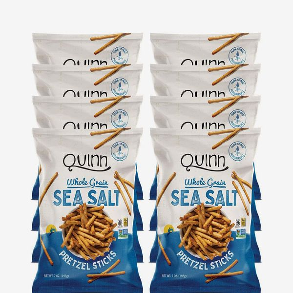 Quinn Snacks Non-GMO and Gluten-Free Pretzels