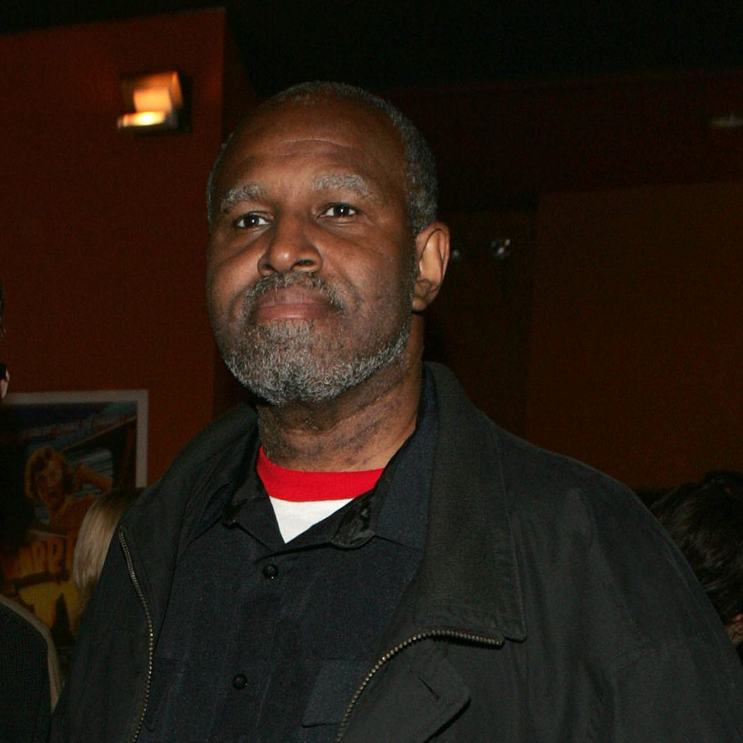 Armond White attends the Tribeca Film Festival Jurors' short films screenings at the Tribeca Cinema October 11, 2005 in New York City.
