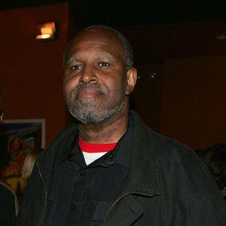 Armond White attends the Tribeca Film Festival Jurors' short films screenings at the Tribeca Cinema October 11, 2005 in New York City.
